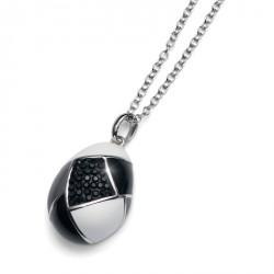 Stříbrný přívěsek Choice - 7307 - Ag925 (crystal/jet)