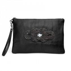 Dámská kabelka Oliver Weber Chain - 71050 (kůže black)