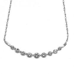 Náhrdelník Oliver Weber Soon - 11133 (silver/crystal)