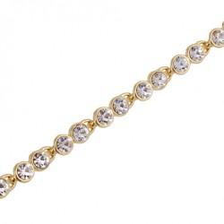Náramek Oliver Weber Tenis - 32034 (gold/crystal)
