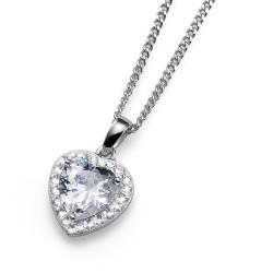 Stříbrný přívěsek Oliver Weber Meaning - 61122 - Ag925 (crystal)