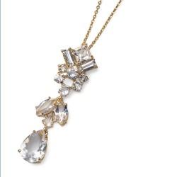 Přívěsek Oliver Weber Week - 11585 (gold / crystal)