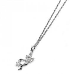 Stříbrný přívěsek Fata - 61078 - Ag925 (crystal)