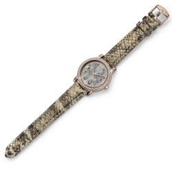 Dámské náramkové hodinky Oliver Weber Vigo Leopard - 65044 (rose gold)