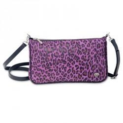 Dámská kožená kabelka Oliver Weber Everyday Tiger - 71054 (kůže violet)