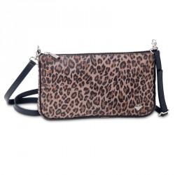 Dámská kožená kabelka Oliver Weber Everyday Tiger - 71054 (kůže brown)