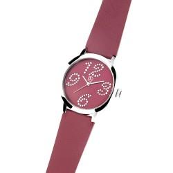 Dámské náramkové hodinky Oliver Weber Avignon - 0128 (red)