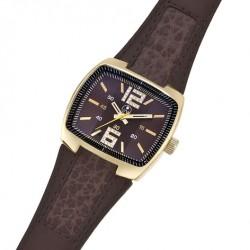 Unisex náramkové hodinky Oliver Weber Porto - 0126 (brown)