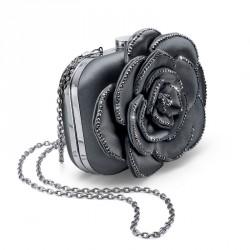 Dámská kabelka Oliver Weber Flower - 71049 (grey)