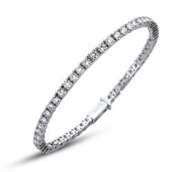 Stříbrný náramek Oliver Weber Classic - 63520 - Ag925 (crystal)