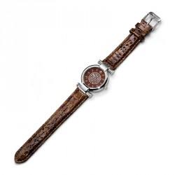 Dámské náramkové hodinky Oliver Weber Sevilla - 0136 (brown)