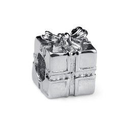 Korálek na náramek Oliver Weber Match Gift - 55017 (steel)