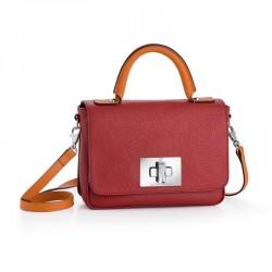 Dámská kabelka Cosy - 4657 (kůže red)