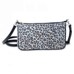 Dámská kožená kabelka Oliver Weber Everyday Tiger - 71054 (kůže grey)