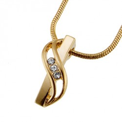 Přívěsek Senso - 8874 (gold/crystal)