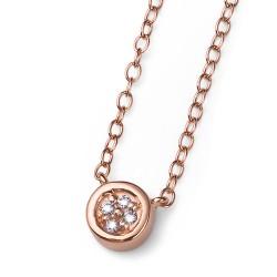 Stříbrný přívěsek Oliver Weber Pinny - 61130 - Ag925 (crystal / rosegold)
