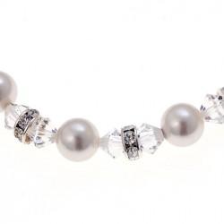 Náhrdelník White pearl 43cm - 11010 (white)