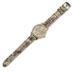 Dámské náramkové hodinky Oliver Weber Vigo Leopard - 65044 (gold)