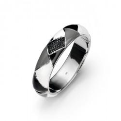 Stříbrný náramek Choice - 7806 - Ag925 (black)