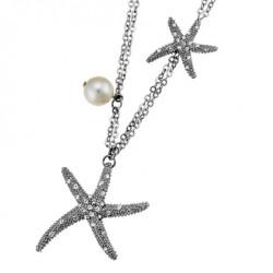 Náhrdelník Oliver Weber Starfish - 11074 (crystal)