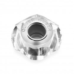 Korálek na náramek Oliver Weber Match Bead Helix thin - 56006 (crystal)