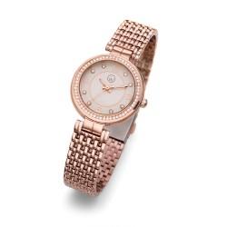 Dámské náramkové hodinky Oliver Weber Perugia - 65051 (rose gold)
