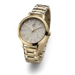 Dámské náramkové hodinky Oliver Weber Turku Steel - 65047 (crystal fabric black)