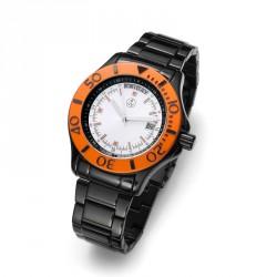 Pánské náramkové hodinky Oliver Weber Bern - 0140 (black/orange)