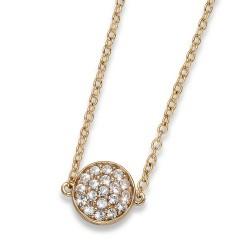Náhrdelník Oliver Weber Pin - 11738 (gold crystal)