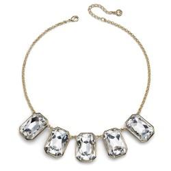 Náhrdelník Oliver Weber Excessive - 11542 (gold crystal)