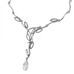 Náhrdelník Oliver Weber Meriva - 11073 (crystal)