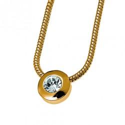 Náhrdelník Diamond - 11025 (gold crystal)