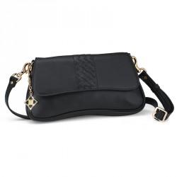 Dámská kabelka Oliver Weber Cross Clutch - 71057 (kůže black)