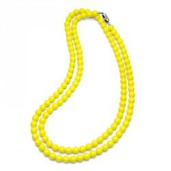 Náhrdelník Perlen Combi - 4332 (neon yellow)