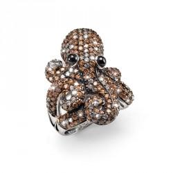 Stříbrný prsten Amazing Octo - S2011
