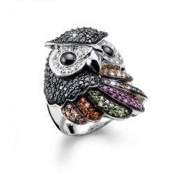 Stříbrný prsten Lucky Owl - S2008