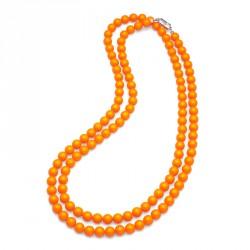 Náhrdelník Perlen Combi - 4332 (neon orange)