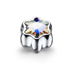Korálek na náramek Oliver Weber Flake - 56023 (crystal AB)
