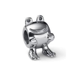 Korálek na náramek Oliver Weber Match Bead Frog - 55015 (steel)