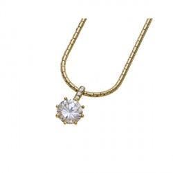 Přívěsek Oliver Weber Real - 11123 (gold/crystal)