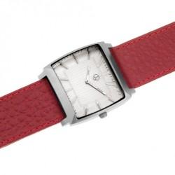 Pánské náramkové hodinky Oliver Weber Stockholm - 0120 (red)