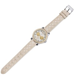 Dámské náramkové hodinky Oliver Weber Murcia - 65052 (beige)