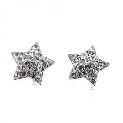 Stříbrné náušnice Oliver Weber Star - 62009 - Ag925 (crystal)