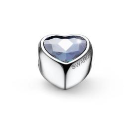Korálek na náramek Oliver Weber Close Heart - 56022 (crystal AB)