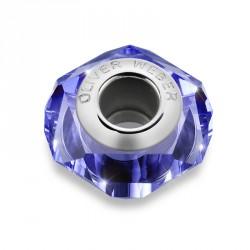 Korálek na náramek Oliver Weber Match Bead Helix thin - 56006 (denim blue)