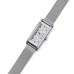 Dámské náramkové hodinky Oliver Weber Monaco - 65056 (silver)
