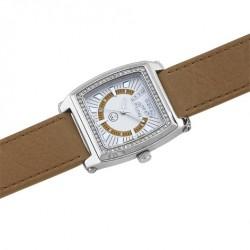 Unisex náramkové hodinky Oliver Weber Nantes - 0123 (beige)
